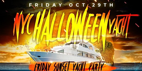 HALLOWEEN WEEKEND  JEWEL YACHT PARTY NYC - SUNSET CRUISE! Fri., Oct 29th tickets