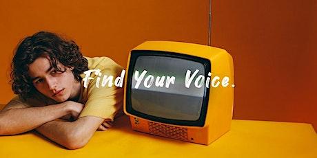 Find Your Voice | Free Workshop | 17 Oct 2021 Tickets