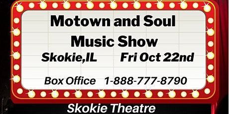 Motown and Soul Music Show - Skokie tickets