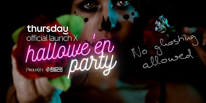 Thursday: Hallowe'en x Launch Party image