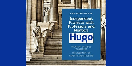 Independent Projects with University Professors and Mentors - Hugo Mentors tickets