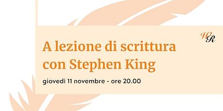A lezione di scrittura con Stephen King biglietti