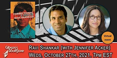 Correctional, with author Ravi Shankar tickets