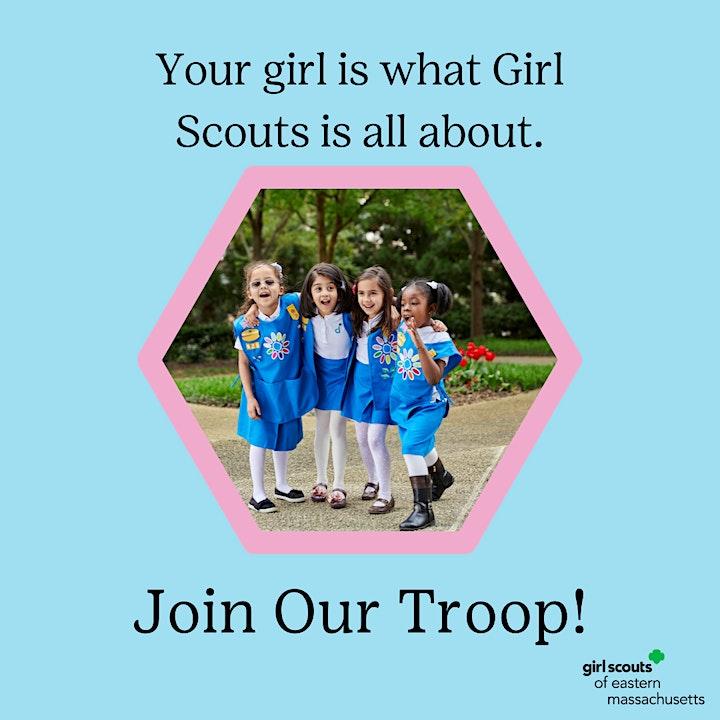 Ayer Girl Scouts Kindergarten Troop 64197 Adult Info Session (Virtual) image