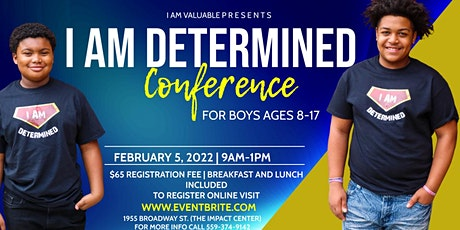 I AM Determined Conference tickets