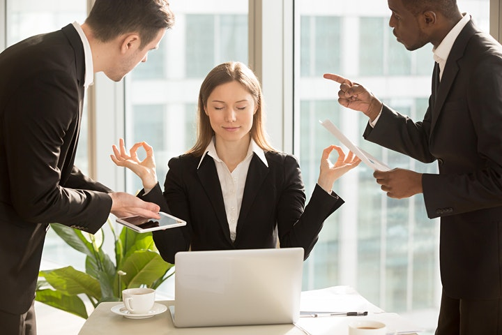 Manage Difficult Conversations -- the workshop image