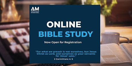 Online Bible Study with AM International tickets