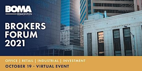 BOMA Edmonton - Brokers Forum 2021 tickets