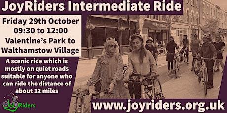 Women's Intermediate Bike Ride from Valentine's Park to Walthamstow Village tickets
