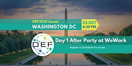 DEF Washington DC: DEF2021 Social (In-Person) tickets