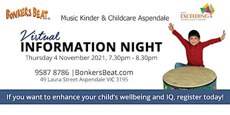 Bonkers Beat Virtual Information Night 2021 tickets