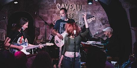 Concert  et Jam Blues, Jessie Lee Houllier, Guitariste Chanteuse, Paris billets