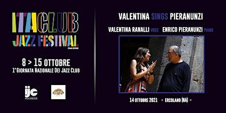 Valentina sings Pieranunzi biglietti