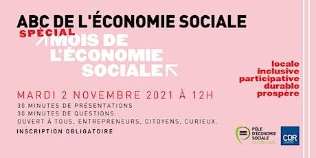 ABC SPÉCIAL MOIS DE L'ÉCONOMIE SOCIALE billets