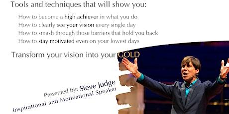 Masterclass - Goal Setting For Gold Standard Speaking with Steve Judge boletos