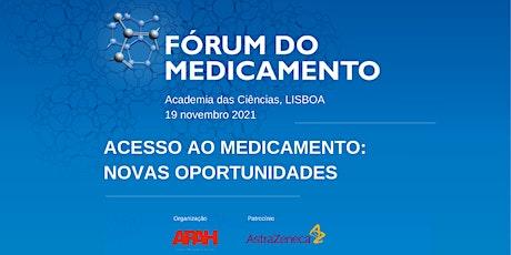 FÓRUM DO MEDICAMENTO 2021 tickets