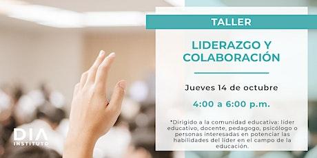 Taller. Liderazgo y colaboración boletos