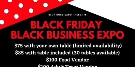 Black Friday Black Business Expo tickets