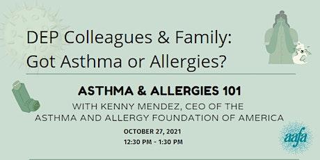 Asthma & Allergies 101 tickets