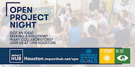 Open Project Night: Climate Action & Sustainable Energy tickets