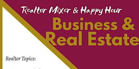 Realtor Mixer & Happy Hour tickets