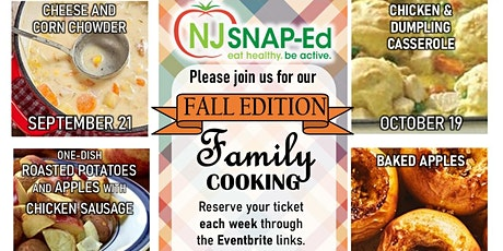 November Fall Family Cooking Class  Fall Edition tickets