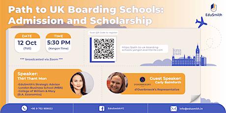 Path to UK Boarding Schools Tickets