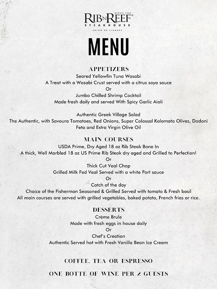 Souper Bénéfice Exécutif/Executive Fundraiser Dinner image