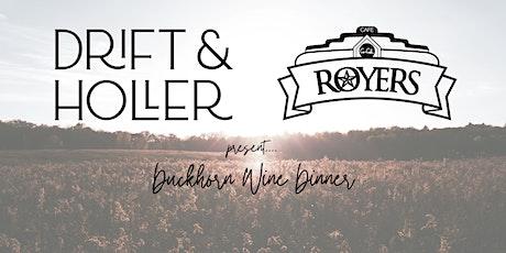 ROYERS CAFE Duckhorn Wine Dinner tickets