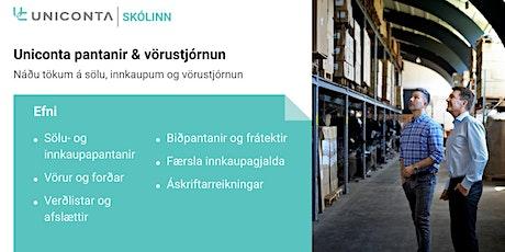 Uniconta Pantanir & Vörustjórnun tickets