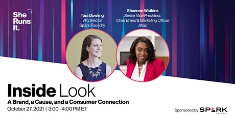 VIRTUAL EVENT: Inside Look: A Brand, a Cause, and a Consumer Connection tickets