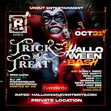 RATED R TRICK OR TREAT HALLOWEEN BASH tickets