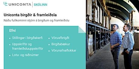 Uniconta Birgðir & Framleiðsla tickets