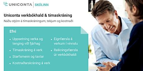 Uniconta Verkbókhald & Tímaskráning tickets