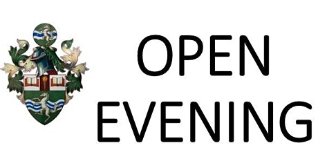 OPEN EVENING - For prospective Year 7 students starting in September 2022 tickets