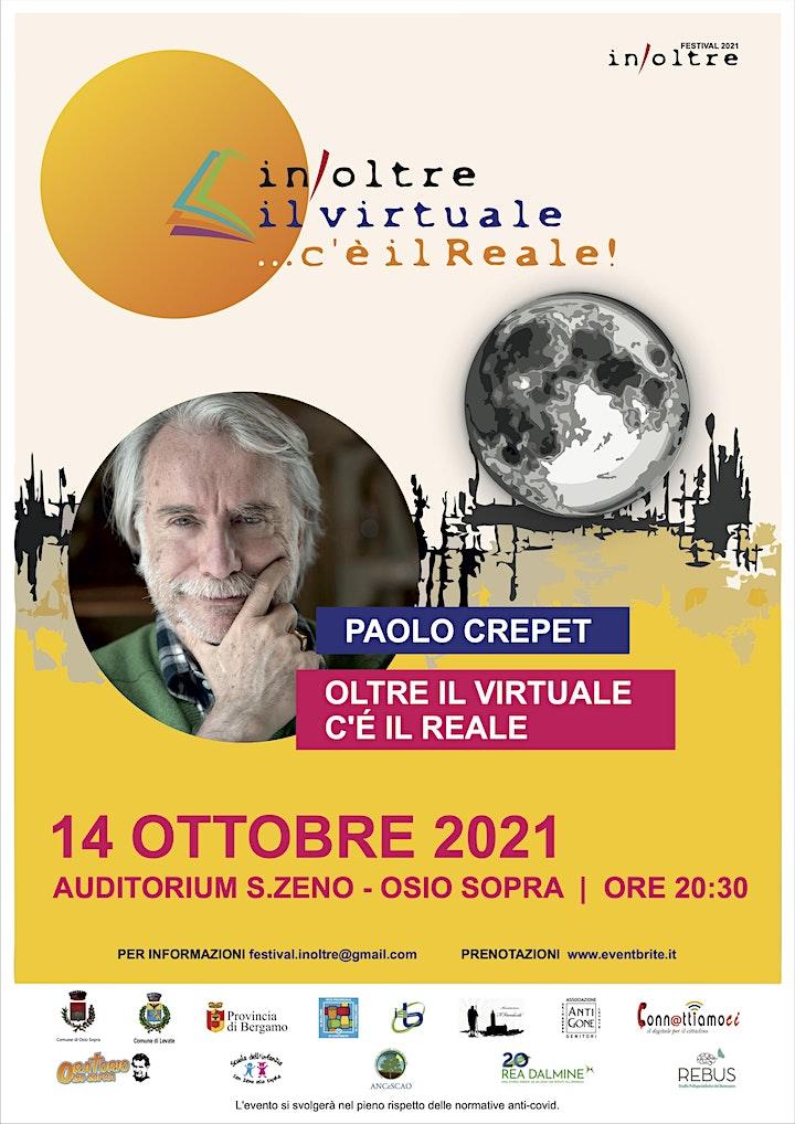 """Immagine In/Oltre 2021 - Paolo Crepet: """"Oltre il virtuale c'è il reale"""""""