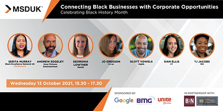 Connecting Black Businesses with Corporate Opportunities tickets