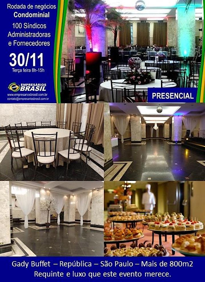 Imagem do evento 30-11 Rodada de negócios - 100 SÍNDICOS  e FORNECEDORES