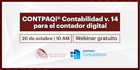 CONTPAQi Contabilidad v. 14 para el Contador Digital entradas