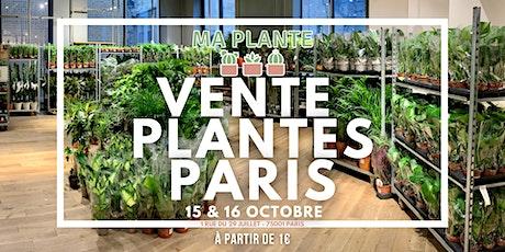 VENTE PLANTES PARIS billets