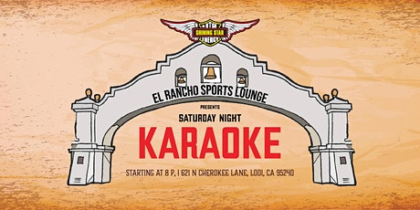 Karaoke at El Rancho Lounge Lodi tickets