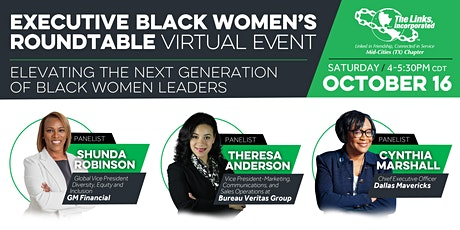 The Executive Black Women's Roundtable tickets