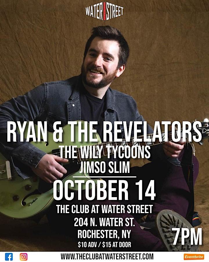 Ryan & The Revelators w/ The Wily Tycoons, Jimso Slim image