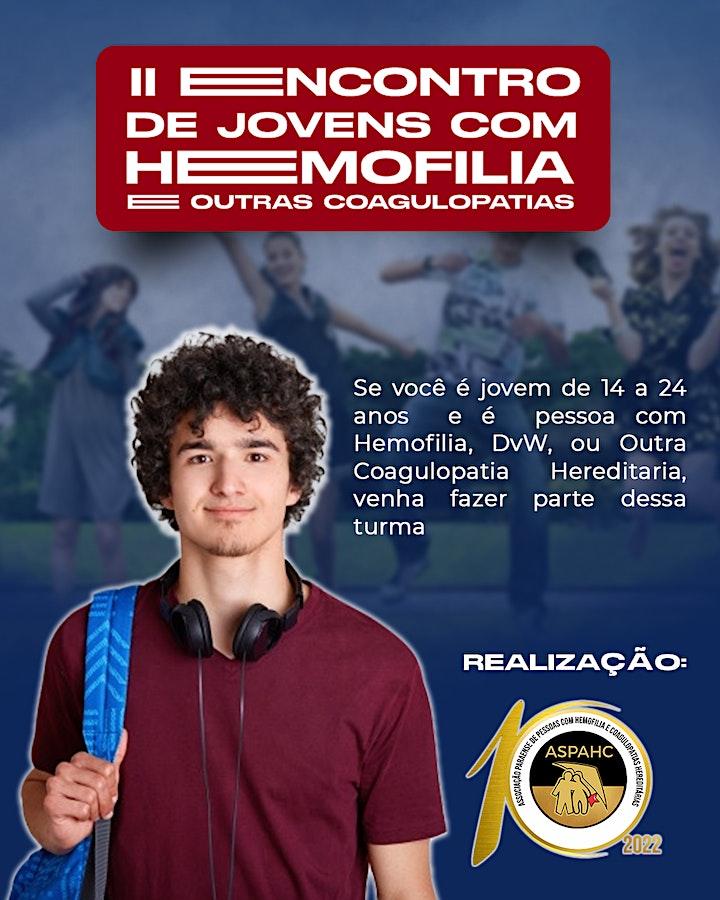 Imagem do evento II ENCONTRO DE JOVENS COM COAGULOPATIAS DO PARÁ