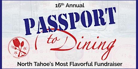 Passport to Dining 2021 tickets