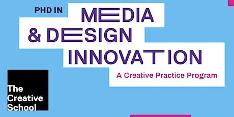 PhD Media & Design Innovation Information Session tickets
