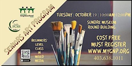 Seniors Art Program tickets