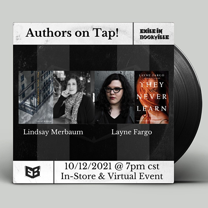 Authors on Tap:  Lindsay Merbaum and Layne Fargo image