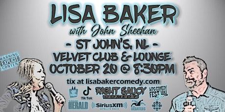 Lisa Baker - Right Saucy Comedy II - St John's NL tickets