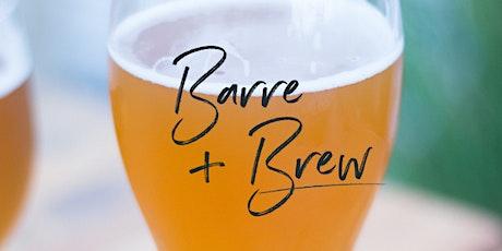 Barre & Brew - Saturday October 30th tickets